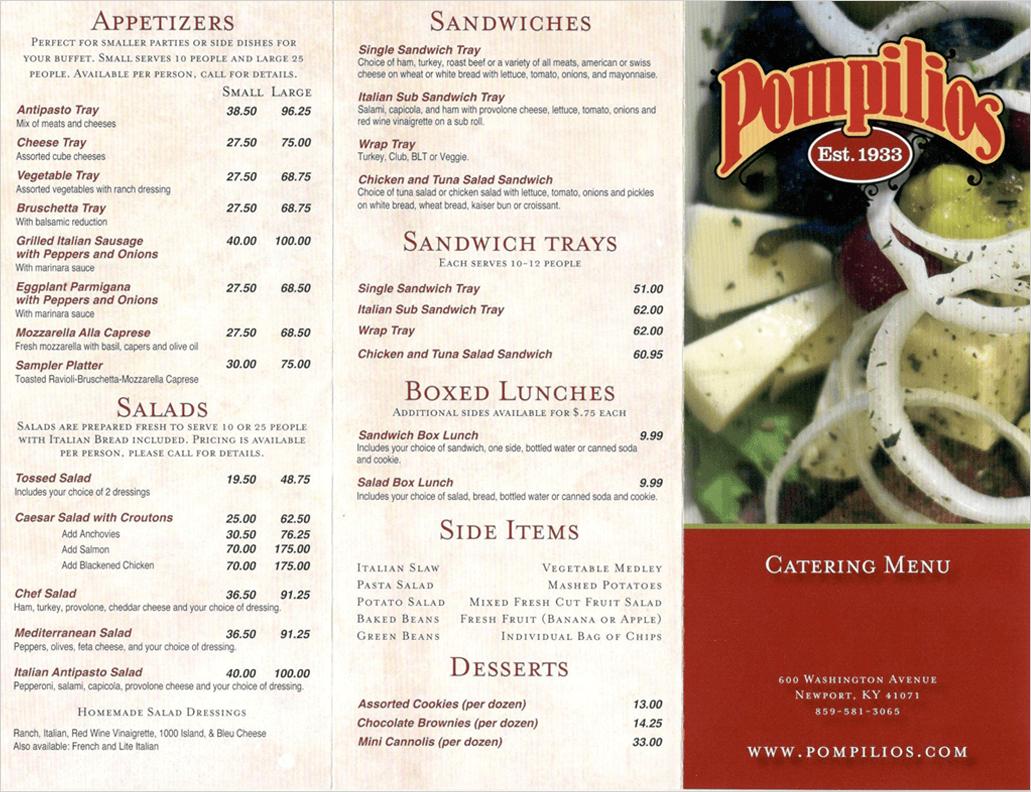 Pompilios Bar And Restaurant  Washington Avenue